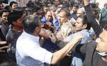বিএনপি প্রার্থী তাবিথ আউয়াল হামলায় আহত
