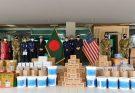 পুলিশ বাহিনীকে সুরক্ষা সামগ্রী উপহার দিল মার্কিন দূতাবাস