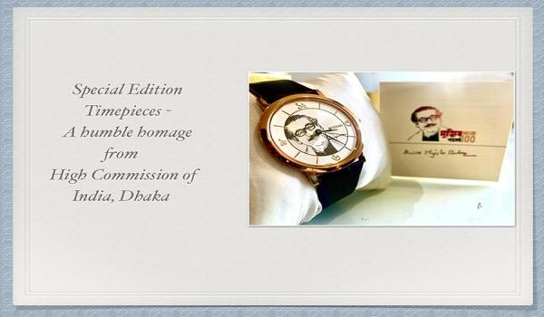 মুজিববর্ষে বঙ্গবন্ধুর সম্মানে বিশেষ সংস্করণের হাতঘড়ি তৈরি
