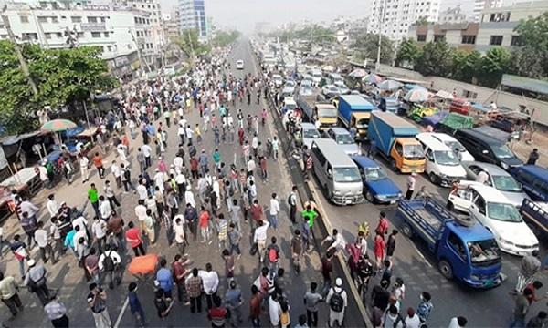 ঢাকা-চট্টগ্রাম মহাসড়কের রায়েরবাগ বাসস্ট্যান্ড
