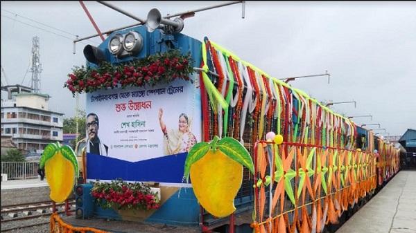 'ম্যাংগো স্পেশাল ট্রেন' উদ্বোধন; রেল উন্নয়নে বিশাল পরিকল্পনা